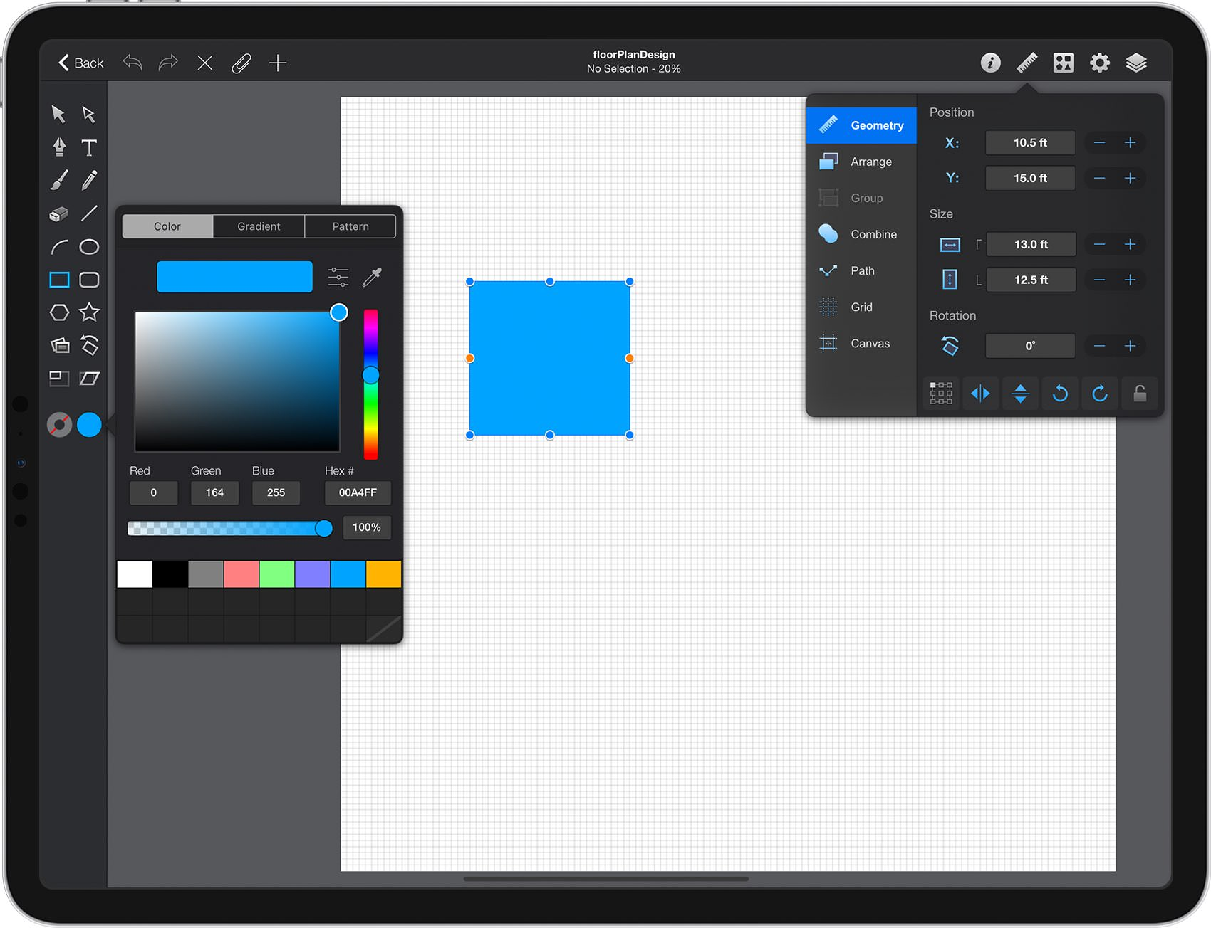 Graphic Create A Floor Plan Design